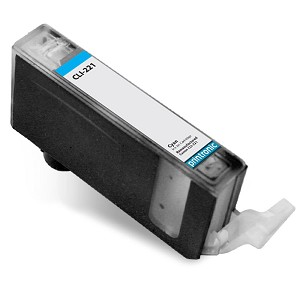 Compatible Canon CLI-221 (2947B001) Cyan Ink Cartridge Cartridge w/ Chip
