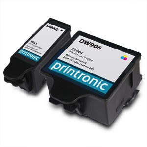 2 Pack Compatible Dell Series 20 Color and Black Ink Cartridge