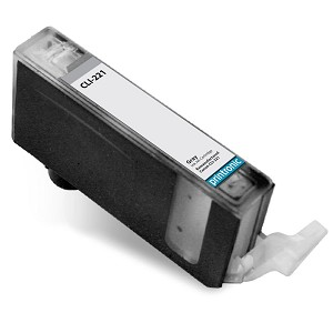 Compatible Canon CLI-221 (2950B001) Grey Ink Cartridge w/ Chip