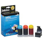 Inktec Refill Kit for HP 564 and HP 564XL  Cyan, Magenta, and Yellow Inkjet Cartridge