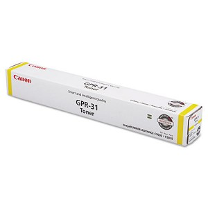 Genuine Canon 2802B003AA - GPR-31 Yellow Toner Cartridge