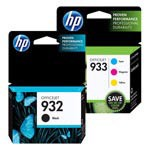 Genuine HP 932-933 Color Ink Cartridge 4-Pack (Includes 1 Each of CN057AN, CN058AN, CN059AN, CN060AN)