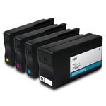 Printronic Remanufactured Ink Cartridge Replacement for HP 950 and HP 951 CMYK - 4 Pack
