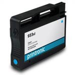 Printronic Remanufactured Ink Cartridge Replacement for HP 933XL Cyan