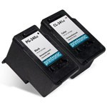 2 Pack Compatible Canon 5206B001 PG-240XL,5208B001 CL-241XL BK/cmy Ink Cartridge