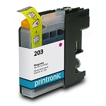 Compatible Brother LC-203 High Yield Magenta Ink Cartridge