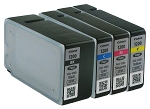 GENUINE NEW Canon PGI-1200 Setup Ink Cartridge No Packaging 4-Pack