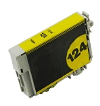 Compatible Epson 124 Yellow Ink Cartridge
