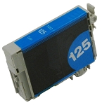 Compatible Epson 125 Cyan Ink Cartridge