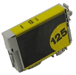 Compatible Epson 125 Yellow Ink Cartridge