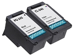 Remanufactured Canon PG-245 CL-246 Ink Cartridge 2-Pack