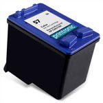 Compatible HP 57 (C6657AN) Color Ink Cartridge