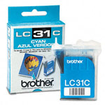 Genuine Brother LC-31C Cyan Ink Cartridge