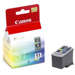 Genuine Canon CL-51 - 0618B002 High Capacity Color Ink Cartridge