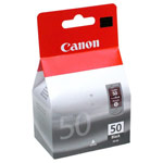 Genuine Canon PG-50 - 0616B002 High Capacity Black Ink Cartridge