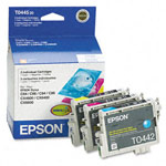 Genuine Epson 44 (T044520) DURABrite Color Ink Cartridge Multipack