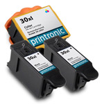 Compatible Kodak 30XL Ink Cartridge 3-Pack