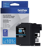 Genuine Brother LC-101C Cyan Ink Cartridge