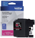 Genuine Brother LC-101M Magenta Ink Cartridge