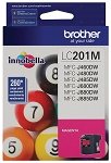 Genuine Brother LC-201M Magenta Ink Cartridge