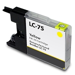 Compatible Brother LC-75 Yellow Ink Cartridge