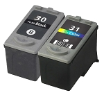 Compatible Canon PG-30 and CL-31 Ink Cartridge - 2 Pack