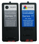 Genuine Dell Series 11 JP451 JP453 Ink Cartridge - 2 Pack
