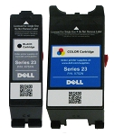 Genuine Dell Series 23 X751N X752N Ink Cartridge - 2 Pack