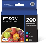 Genuine Epson 200 Ink Cartridge - 3 Pack