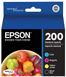 Genuine Epson 200 Ink Cartridge - 4 Pack