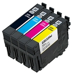 Remanufactured Epson 220XL Ink Cartridge - 4 Pack