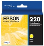 Genuine Epson 220 Yellow Ink Cartridge