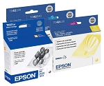 Genuine Epson T032 T042 Ink Cartridge - 4 Pack
