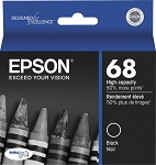 Genuine Epson 68 T0681 Black Ink Cartridge