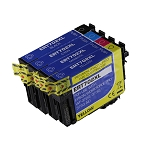 Remanufactured Epson 702 702XL Ink Cartridge - 4 Pack
