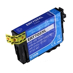 Remanufactured Epson 702 702XL Cyan Ink Cartridge