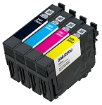 Remanufactured Epson 200XL Ink Cartridge - 4 Pack