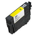 Remanufactured Epson 252 Yellow Ink Cartridge