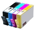 Compatible HP 564XL Ink Cartridge - 4 Pack