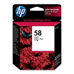 Genuine HP 58 Photo Color Ink Cartridge