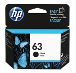 Genuine HP 63 Black Ink Cartridge