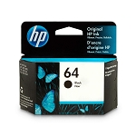 Genuine HP 64 Black Ink Cartridge