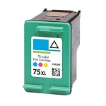 Compatible HP 75XL Color Ink Cartridge