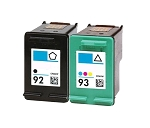 Compatible HP 92 and HP 93 Ink Cartridge - 2 Pack