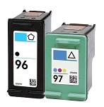 Compatible HP 96 and HP 97 Ink Cartridge - 2 Pack