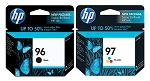 Genuine HP 96 and HP 97 Ink Cartridge - 2 Pack