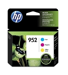 Genuine HP 952 Ink Cartridge - 3 Pack