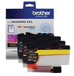 Genuine Brother LC3033 XXL Color 3 Pack