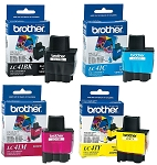 Genuine Brother LC-41 Ink Cartridge - 4 Pack