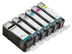 Compatible Canon PGI-225 CLI-226 Ink Cartridge - 6 Pack